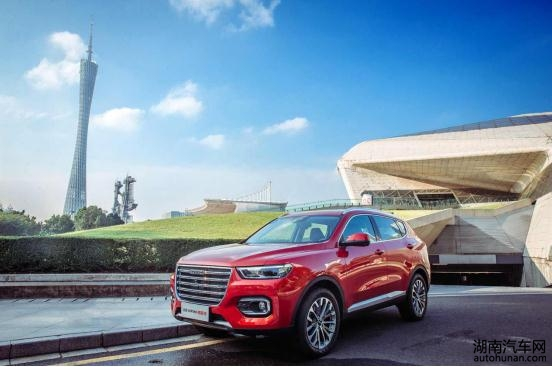 最快销售300万辆的中国品牌SUV强者哈弗H6彰显神车神速