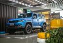 北京越野首款柴油+AT产品 BJ40刀锋英雄版柴油版实拍