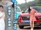 撑油伞、穿旗袍、古典美女自驾北京现代新一代ix25游福州